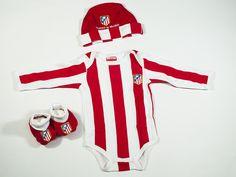 Conjunto para bebé del Atlético de Madrid. El regalo ideal para los papás  colchoneros. 4fc9e0f01d646
