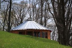 Virginia- Hill Top Cabin is perched high with great views of the mountains