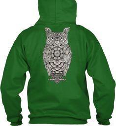 Owl Always Love You Irish Green T-Shirt Back
