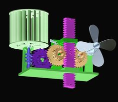 A wind turbine that can collect and then store energy in gravity is great but if that wind turbine is created on a 3D printer it's truly fantastic!  Mike Blakemore got the idea of creating a small 3D printed device that could collect energy via the wind and then store it in gravity. The project started as an idea in his head and then he transferred these ideas to paper and then 3D printed all of the parts on his daVinci 1.0 3D printer. The printing process took him about 3 days to complete…