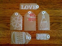 Trader Joes Gift Tags- Great Idea!!