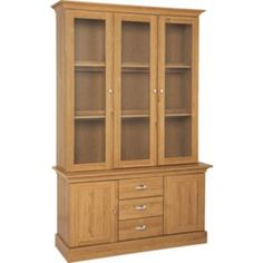 Buy Kew 3 Glass Doors Display Cabinet