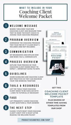 Welcome Packet Template Productive and Free - Business Management - Ideas of Business Management - real estate photography business Business Analyst, Business Branding, Business Marketing, Online Marketing, Business Coaching, Internet Marketing, Business Tips, Online Business, Business Quotes
