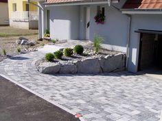 Carport Garage, Driveway Design, Backyard Patio, Garden Paths, Pathways, Habitats, Album Photo, Outdoor Decor, Gardens