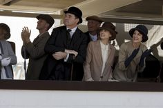 Anna and Bates' love can survive anything! | S6 E7 | Anna & Bates & Baxter at the racetrack