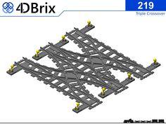 Lego 3d, Lego Plane, Cool Lego, Lego Train Tracks, Lego City Train, Lego Mecha, Lego Track, Metro Paris, Lego Room