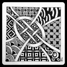 Zentangle | by ilienne