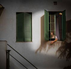 Are you there? | Rodrigo Illescas Window Photography, Blinds, Home Decor, Fotografia, Decoration Home, Room Decor, Shades Blinds, Blind, Home Interior Design