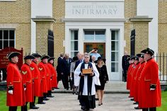 The ashes of Baroness Thatcher were interred today in the grounds of the Royal Hospital Chelsea. Members of the former prime minister's family, including her children Sir Mark and Carol Thatcher, attended a short service in the hospital's chapel before her ashes were buried beside those of her husband Denis, who died in 2003. Lady Thatcher, the longest-serving British prime minister of the 20th century and the first woman to hold the office, died on April 8. She was 87.