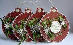 Christmas Gift Tags --- Dorota_mk: Bombkowy hurt :)