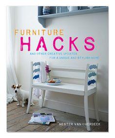 Love this Furniture Hacks Hardcover on #zulily! #zulilyfinds