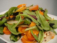 Cook the Book: Asian Pear, Persimmon, and Almond Salad | Serious Eats : Recipes