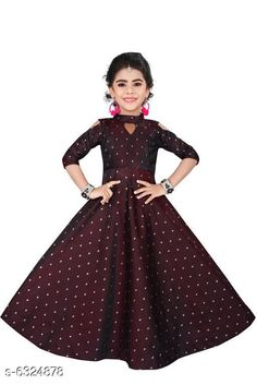 Checkout this latest Frocks & Dresses Product Name: *Diva Fancy Kid's Girls Dresses  * Fabric: Silk Blend Sleeve Length: Three-Quarter Sleeves Pattern: Printed Multipack: Single Sizes: 0-6 Months (Bust Size: 12 in, Length Size: 103 in)  0-1 Years, 1-2 Years, 2-3 Years, 3-4 Years, 4-5 Years, 5-6 Years, 6-7 Years, 7-8 Years, 8-9 Years, 9-10 Years, 10-11 Years, 11-12 Years, 12-13 Years, 13-14 Years, 14-15 Years, 15-16 Years Easy Returns Available In Case Of Any Issue   Catalog Rating: ★4 (328)  Catalog Name: Modern Classy Girls Frocks & Dresses CatalogID_1005346 C62-SC1141 Code: 828-6324878-6822
