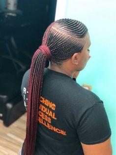 85 Box Braids Hairstyles for Black Women - Hairstyles Trends Box Braids Hairstyles, Sporty Hairstyles, Braided Hairstyles For Black Women, African Hairstyles, Girl Hairstyles, Pretty Hairstyles, Black Hairstyle, Hairstyles 2018, Hairstyle Ideas