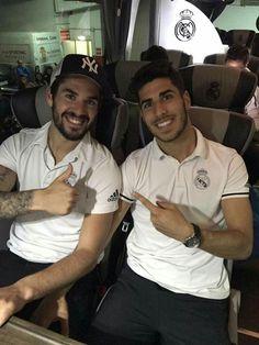 Isco Alarcón y Marco Asensio #HalaMadrid