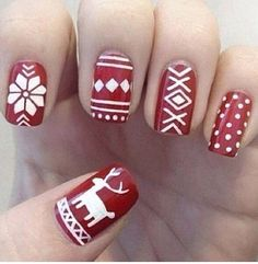 Fair Isle Nails!