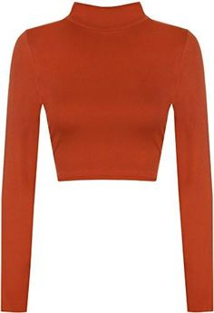 Show some skin with the Harmony turtle neck crop top. This versatile long sleeve turtleneck top can be worn as part of a day or night outfit. Pair with a pair of jeans and flats for a relaxed day look or add skinny jeans and some killer heels for a sophisticated party look.Note: Despite every effort to accurately depict each product's color, actual colors may vary due to monitor and/or video card differences, subtle variations in tone may not be fully revealed