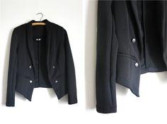 Black Military Blazer #style #fashion #outfit #ootd #fashionblog #fblogger #fblog #fashionblogger #outfitidea