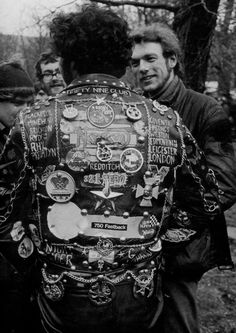 Bikes, leathers and RNR. British Rockers in the early 1960s.               http://thespeedboys.blogspo...