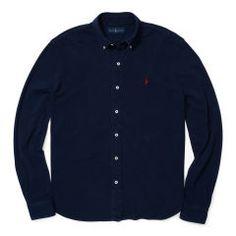 Chemise ultra légère en coton piqué - Polo Ralph Lauren Chemises Oxford - Ralph Lauren France