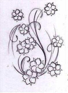 japanese floral tattoo designs - Google zoeken