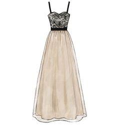 M6893 | Misses' Dresses | Evening/Prom | McCall's Patterns