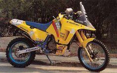 Gaston Rahiers DR 800 Zeta Vespa, Moto Enduro, Scrambler, Suzuki Motos, Rallye Paris Dakar, Rallye Raid, Off Road Bikes, Motorcycle Rallies, Japanese Motorcycle