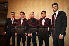 Entrega Balón de Oro a Leo Messi en Zurich, cuarto Balón de Oro conseguido por el argentino.