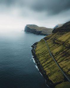 Tjørnuvík, Faroe Islands - by Lina Kayser