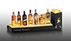 folding glorifier display - Google Search Drink Display, Pos Display, Bottle Display, Sign Display, Display Design, Pos Design, Wine Design, Retail Design, Stand Design
