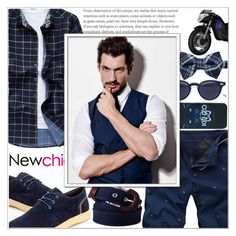 """""""Newchic (1\10) ~~"""" by av-anul ❤ liked on Polyvore featuring Kenzo, Thom Browne, Ted Baker and Lands' End"""