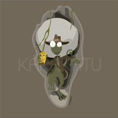 Iguana Jones - Camisetas con este y otros diseños en Karakatu.com