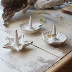 Seaside Ring Holders - Set of 3