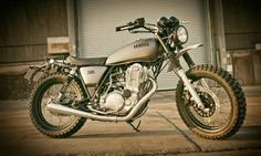 Make your own custom bike with Yamaha Yard Built: Gibbonslap and more to come Custom Motorcycles, Custom Bikes, Custom Cars, Cars And Motorcycles, Sr500, Motorcycle Wallpaper, Japanese Motorcycle, Bike News, Cafe Racer Motorcycle
