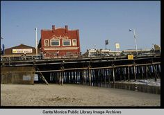 Santa Monica Pier, with Sinbad's - Library Images, Pacific Palisades, Sinbad, Image Archive, Beach Town, West Side, Santa Monica, Venice, History