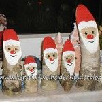 DIY - Santa / Weihnachtsmänner Santa Crafts, Dyi Crafts, Arts And Crafts Projects, Decor Crafts, Crafts For Kids, Crafts To Sell, Christmas Angels, Christmas Holidays, Christmas Crafts