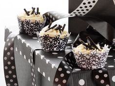 Liquorice cupcakes. A sweet treat with a twist.