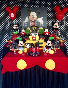 Mickey Mouse Birthday Party Ideas | Photo 1 of 26 | Catch My Party