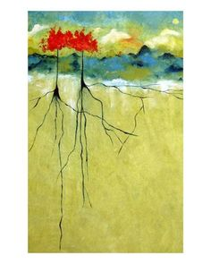 Deep Roots Giclee Print by Ruth Palmer at Art.com