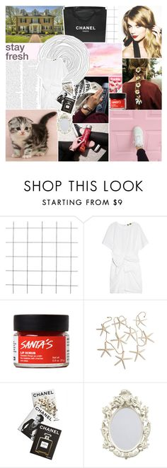 """""""everybody gets high sometimes you know✰"""" by xheyitssanx ❤ liked on Polyvore featuring Chanel, MSGM and Assouline Publishing"""