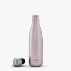 S'well® Official - S'well Bottle - Pink Champagne Water Bottle Glitter Water Bottles, Cute Water Bottles, Bpa Free Water Bottles, Reusable Water Bottles, Insulated Water Bottle, Drink Bottles, Swell Water Bottle, Thermal Flask, Cute Cups