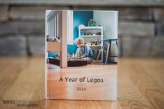 """A Year of Legos"", a great photo book photographer Tamra Yandow created with her son. So inspirational!"