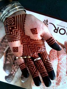 Henné Morocco