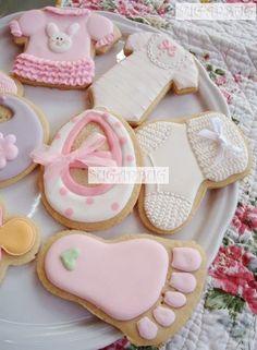cool Baby Shower Cookies...
