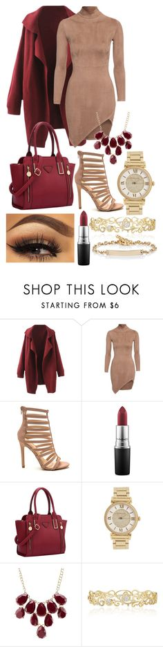 """""""tell me everything about you"""" by cutiepiemandiii ❤ liked on Polyvore featuring MAC Cosmetics, Michael Kors, Charlotte Russe, Effy Jewelry, Hoorsenbuhs, women's clothing, women, female, woman and misses"""