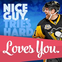Happy Valentine's Day, from the Pittsburgh Penguins. #PensValentines