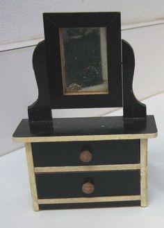 Kestner antique miniature doll house German furniture
