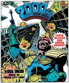The art of Judge Dredd: 20 killer 2000 AD covers | Comics | Creative Bloq