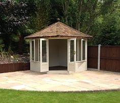The Kingston is the ideal secret outdoor summerhouse