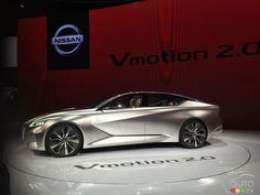 Future #Nissan sedans previewed by Vmotion 2.0 concept | Car News | Auto123